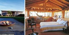Yellow, white, and golden softwoods create a happy, sunny, 'holiday cabin' mood. (France)