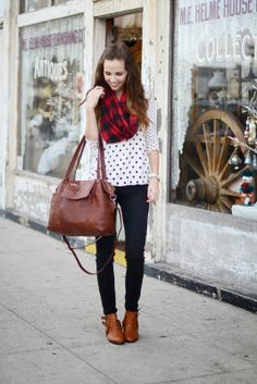 Polka Dots and Buffalo Plaid | Merrick's Art