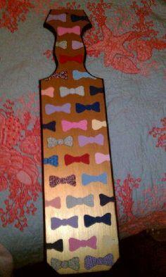 bow ties..amazing paddle