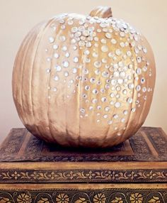 Pumpkin decoration inspiration - sparkly