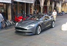 Mother of God! The new Aston Martin Vanquish...