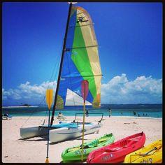 Water sports at Palomino Island at El Conquistador Resort in Puerto Rico