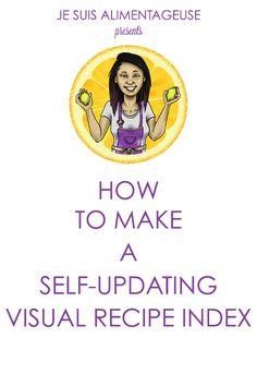 Visual Recipe Index Tutorial 2.0