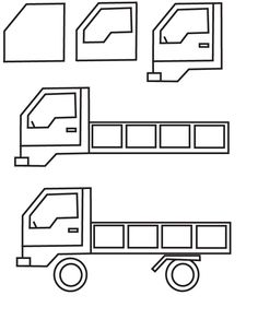 drawing truck
