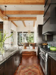 contemporary kitchen by Mark Ashby Design
