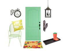Revamp your #frontdoor with these lovely looks #hgtvmagazine #curbappeal http://www.hgtv.com/walls-doors-and-floors/fabulous-front-doors/pictures/page-62.html?soc=pinterest