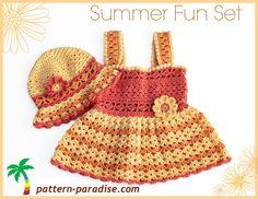 NEW Crochet Pattern - Summer Fun Sunhat!