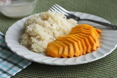 Scientifically Sweet: Mango with Coconut Sticky Rice! >> A superb combination indeed!