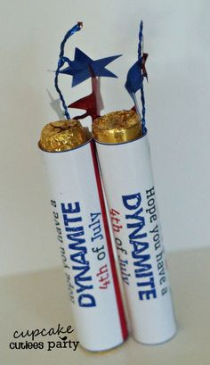 Dynamite ROLO Candy Craft Fourth of July  by CupcakeCutieesParty