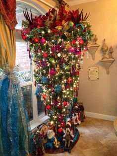 Upside Down Christmas Trees On Pinterest Christmas Trees