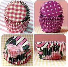 Cupcake Wrappers from http://www.bakeitpretty.com/