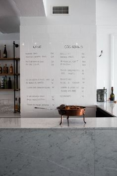 Write on the (tile) wall...