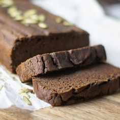 Vegan and Gluten-free Pumpkin Bread