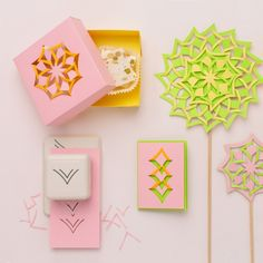 Add dimension and design to your paper crafts with the new Cut & Fold punch from #marthastewartcrafts