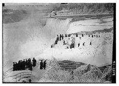 """""""Ice Bridge, Niagara 1912"""" Library of Congress"""