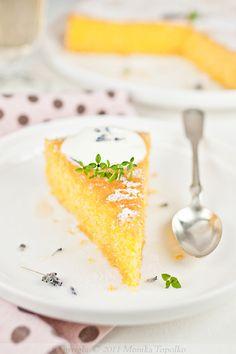 Polenta Olive Oil Cake With Lemon And Lavender