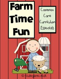 This 147 page thematic unit, Farm Time Fun, is strategically linked to the Common Core Standards!