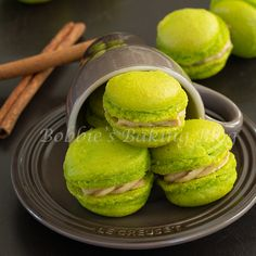Fleur de Sel Apple Macarons, layers of delicately enticing flavors; that satisfy all the notes for your palate!