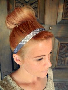 DIY Simple Ribbon Headband