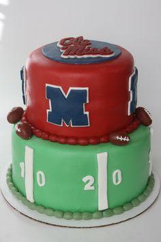 Ole Miss cake