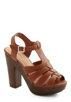 Croissants and Soda Heel, #ModCloth