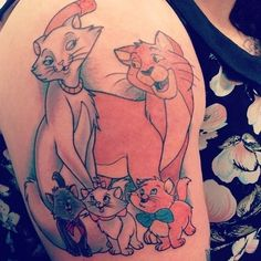 Tattoo Idea! Sorry, love Disney cartoon tattoos