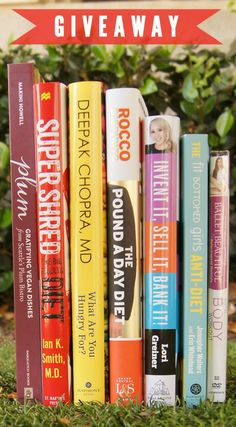 Enter for a chance to win these 6 books on health - from a healthy body to a healthy wallet - plus a DVD!