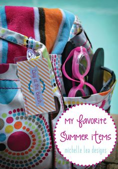 michelle lea designs: Summer Favorites and Beach Printable
