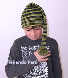 Cómo tejer un gorro de elfo o duende a crochet (crochet elf hat)! This video includes English subtitles!