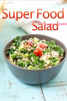 Protein Packed Super Food Salad from Ireland's Avoca Cafe | Our Lady of Second Helpings