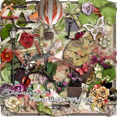 What's New At Digidesignresort? - Digital Scrapbooking Kits for the Perfect Digital Scrapbook