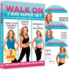 "Walk Off Weight! You can drop lbs. and feel great with my ""Walk On: 3-DVD Super Set - The Ultimate Walking Collection!"" Save 20 percent (and get FREE shipping) if you order NOW: http://www.amazon.com/dp/B00IIOLQXU/ref=cm_sw_r_pi_dp_yA-3tb1TN1QB7630"