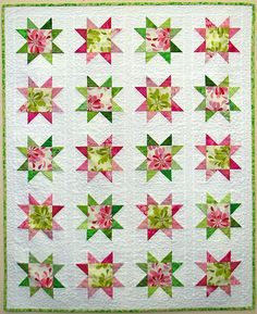 might have to make a pink and green quilt...