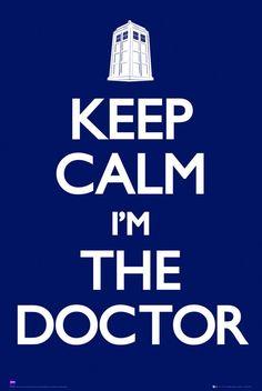 Keep Calm Doctor Who
