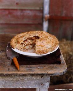 Apple Pie with Cheddar Crust Recipe