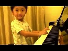 4 Year Old Boy Plays Piano- WHAT?!?!