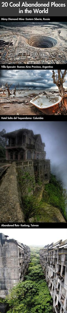 Amazing abandoned places in the world