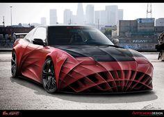 car sport, sport cars, awesom custom, custom cars, car design, awesom red, andersen, car red, artichok design