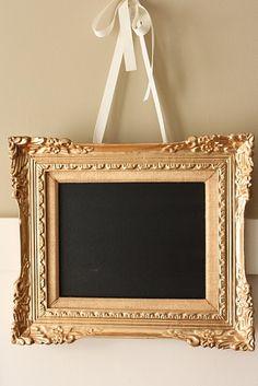anyone can make a chalkboard