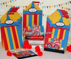 Invitaciones para fiesta de Circo
