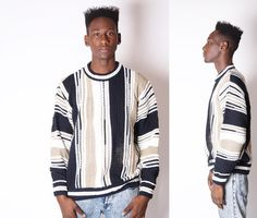 Vintage Cosby Sweater  Coogi Style Sweater  Vintage by EmmettBrown, $54.00