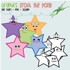 Star Clip Art- Free!