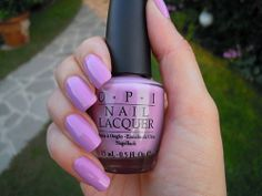 Complete your look with #orchid nails! | O.P.I. Nail Polish Pantone Radiant Orchid
