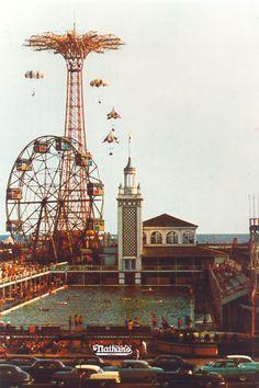 The Ferris Wheel, Coney Island, NY