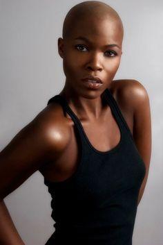 Bald, Beautiful Women. on Pinterest | Bald Women, Bald Girl and Shave ...