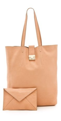 matching tote and clutch