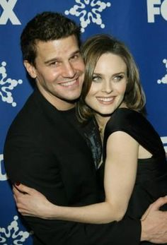 Two for the price of one!  Emily Deschanel and David Boreanaz.