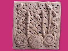 Texture Tiles lesson plan- crayola