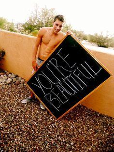 No, YOU'RE beautiful ;D