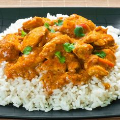 This chicken curry recipe is a great option when you are in a hurry to ...